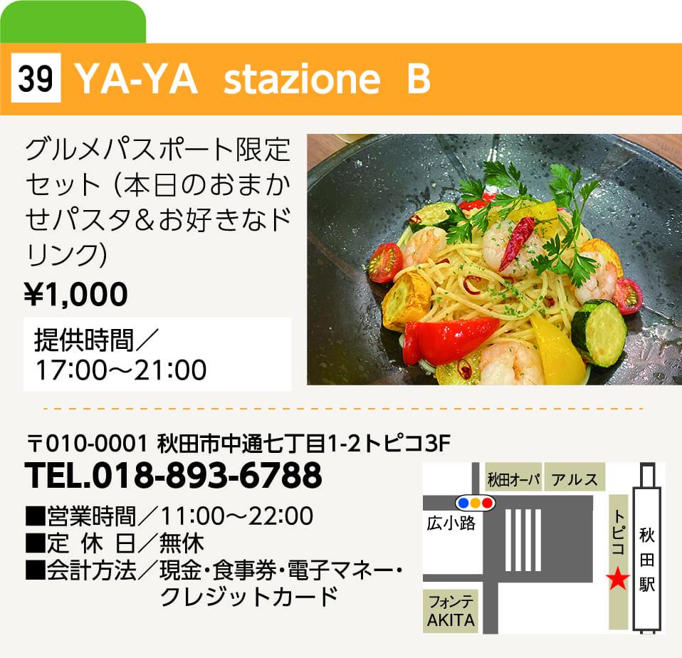 YA-YA stazione B